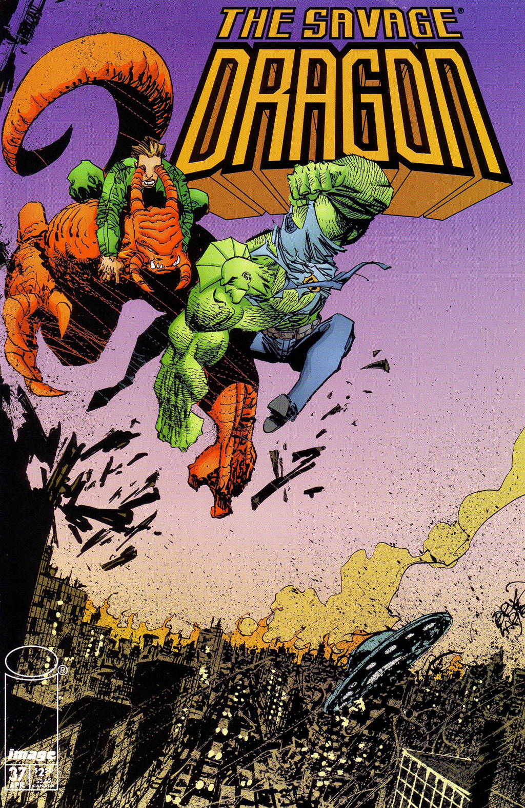 Cover Savage Dragon Vol.2 #37