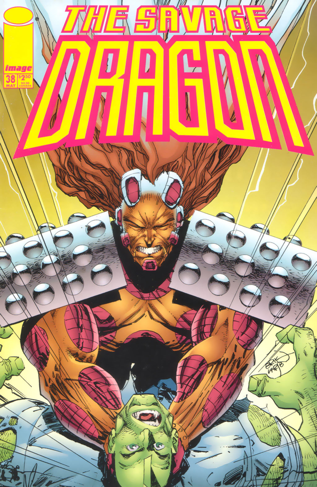 Cover Savage Dragon Vol.2 #38