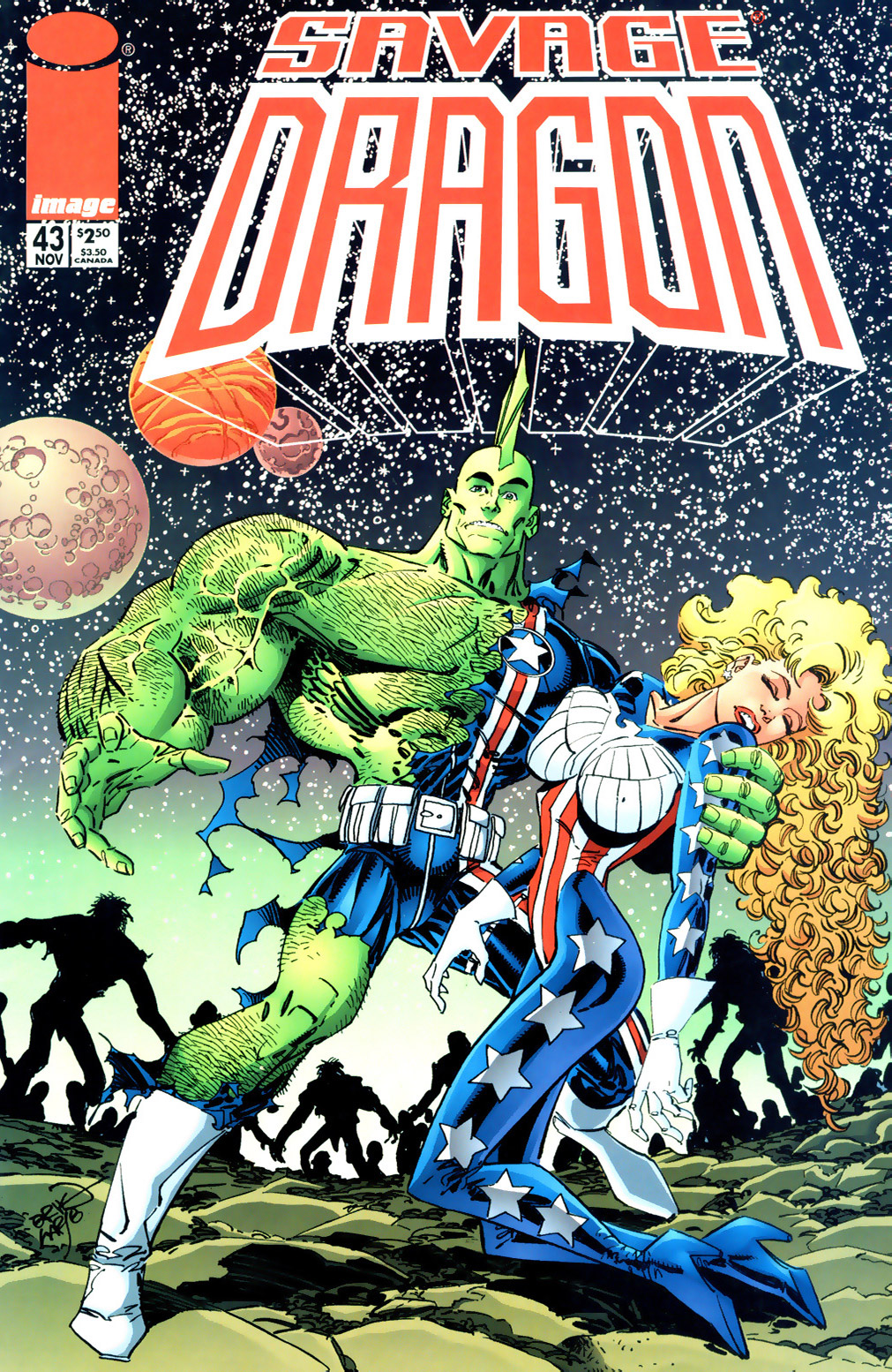 Cover Savage Dragon Vol.2 #43