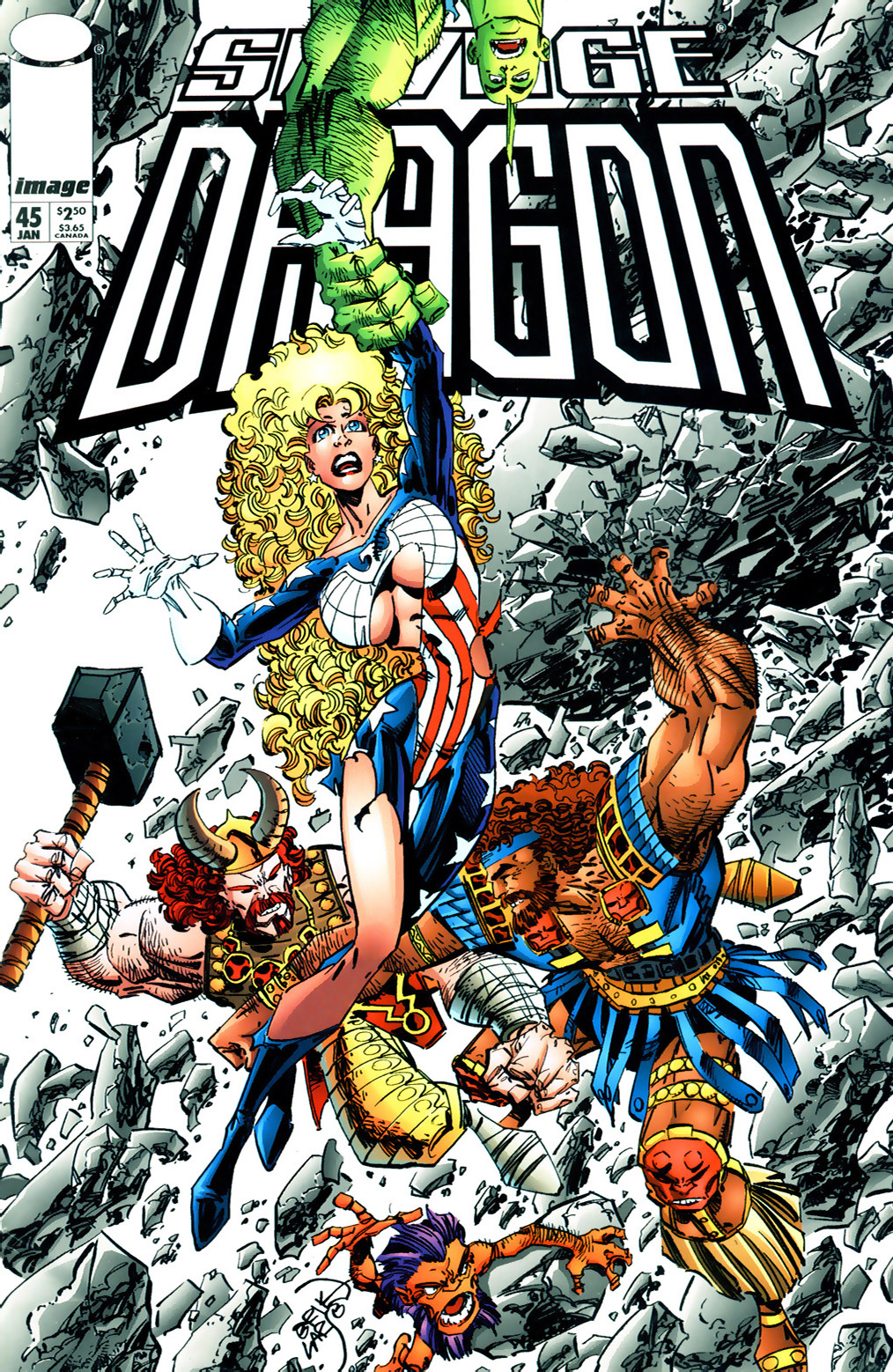 Cover Savage Dragon Vol.2 #45