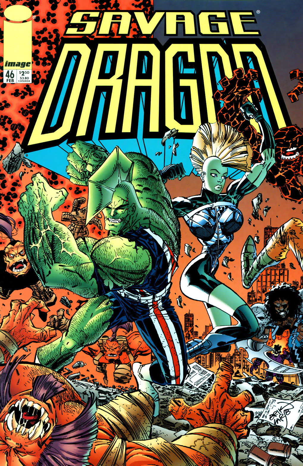 Cover Savage Dragon Vol.2 #46