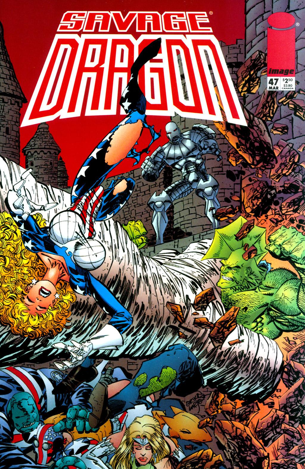 Cover Savage Dragon Vol.2 #47