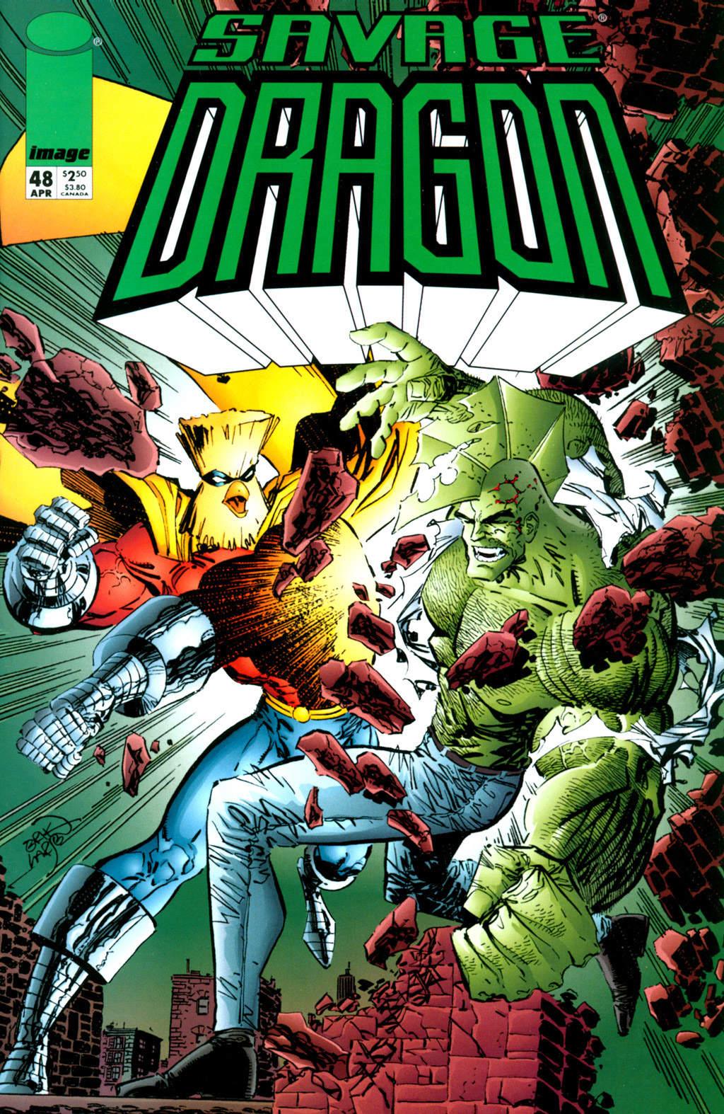 Cover Savage Dragon Vol.2 #48