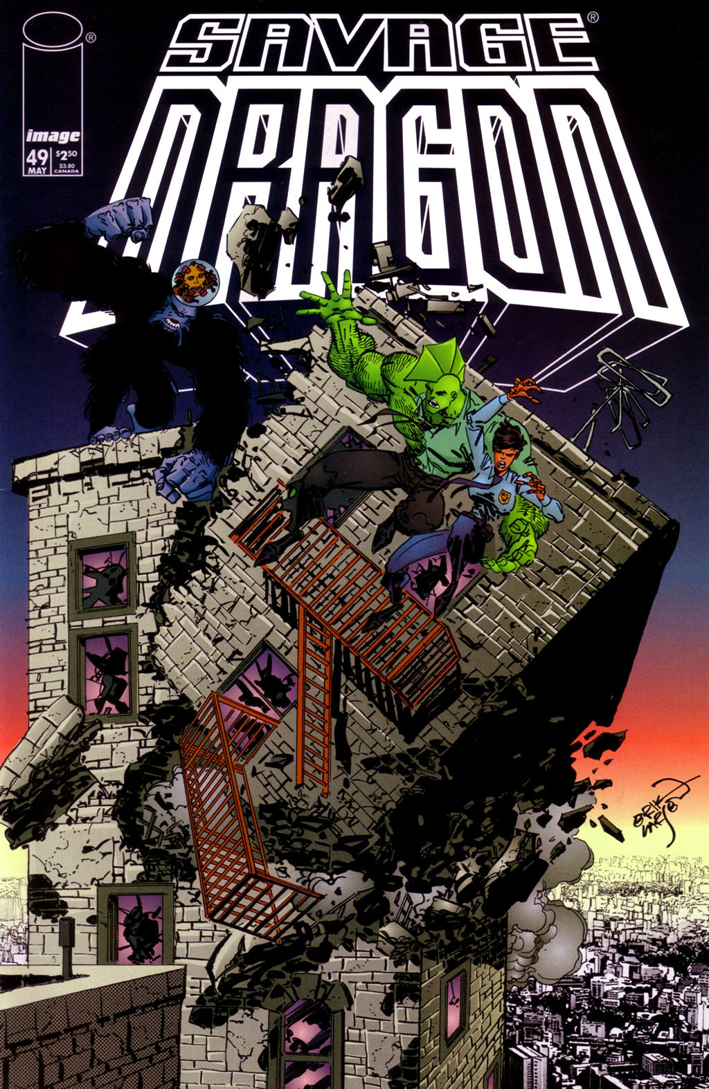 Cover Savage Dragon Vol.2 #49