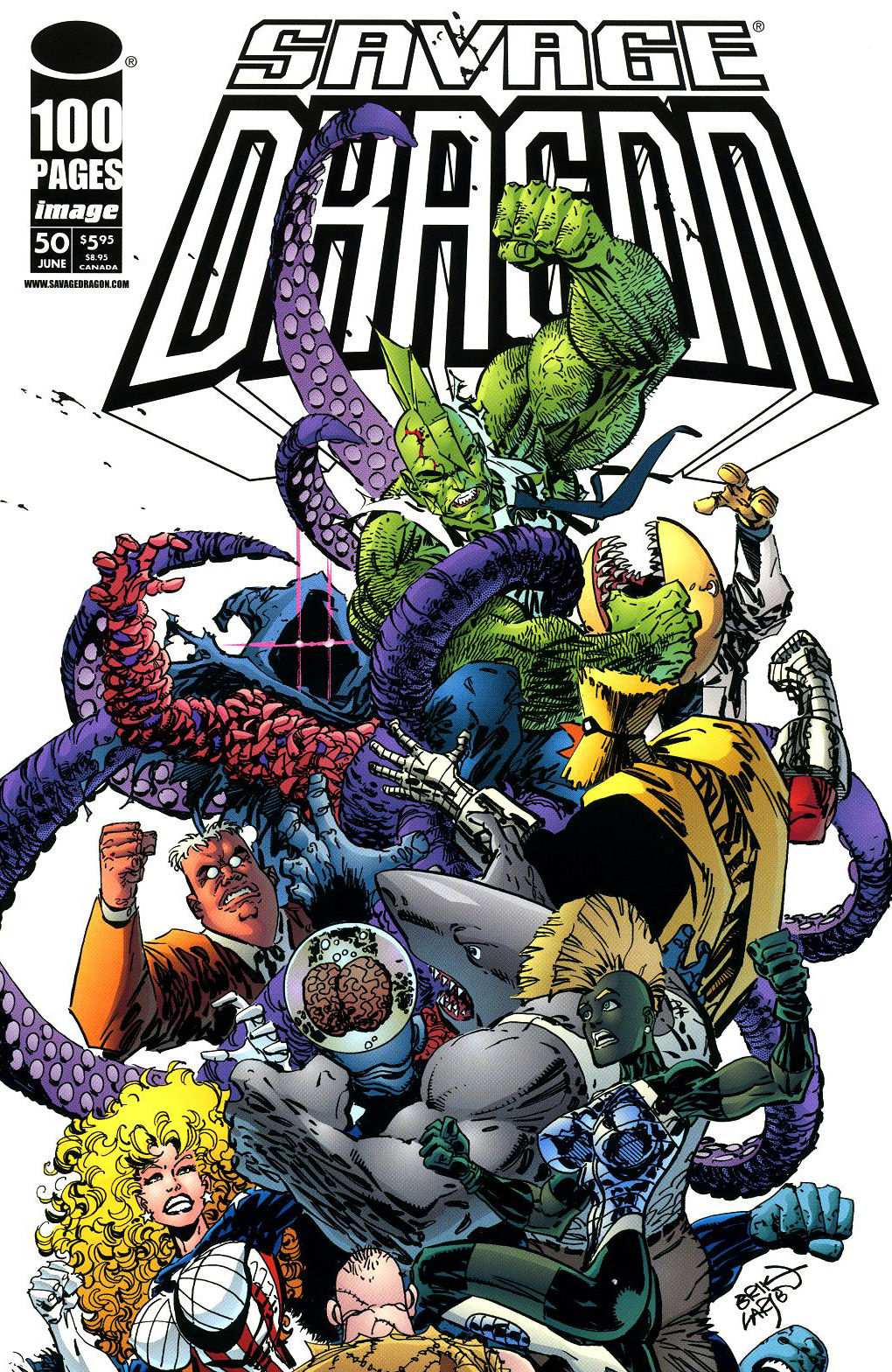 Cover Savage Dragon Vol.2 #50