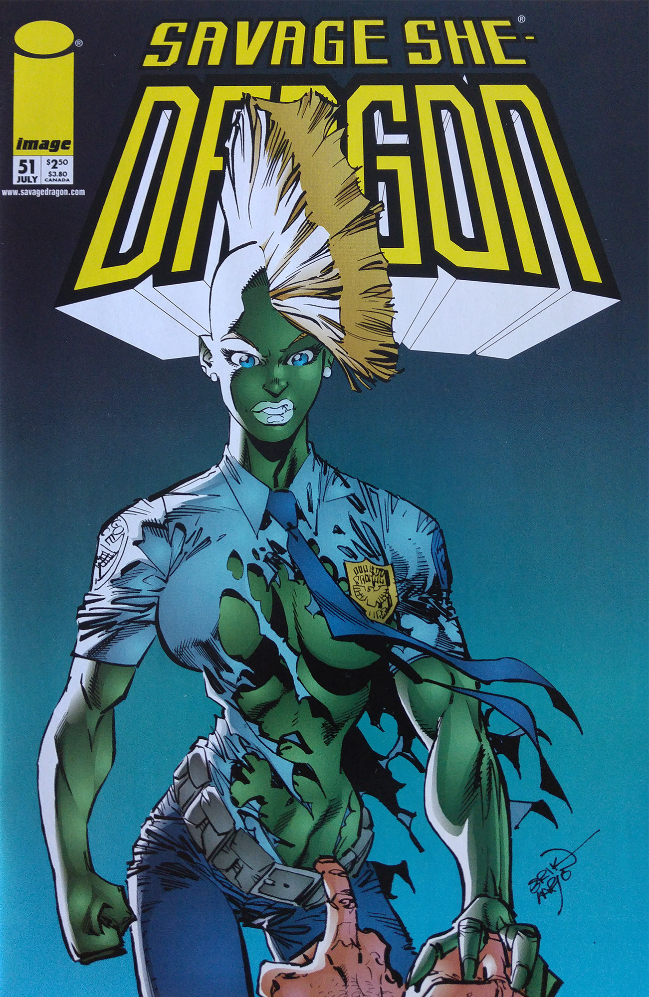 Cover Savage Dragon Vol.2 #51