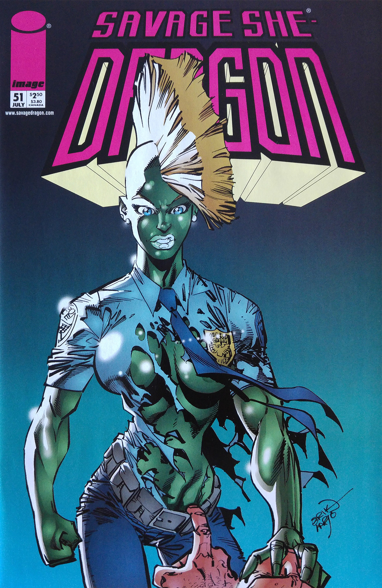 Cover Savage Dragon Vol.2 #51 Variant