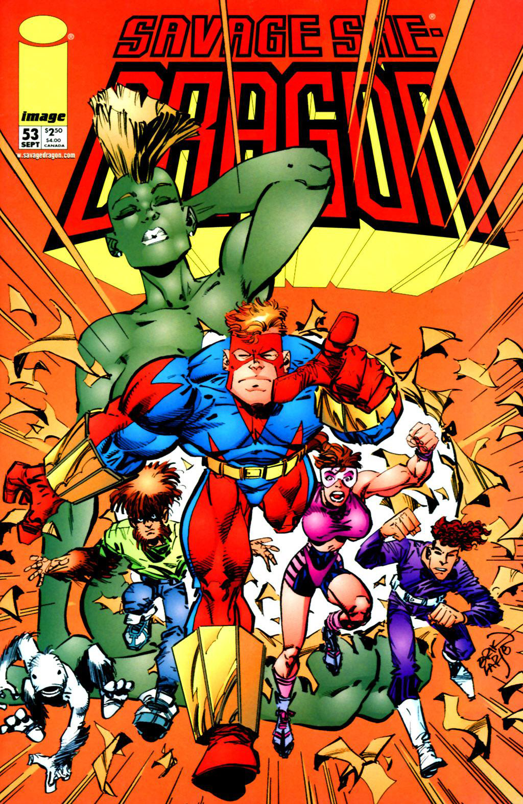 Cover Savage Dragon Vol.2 #53