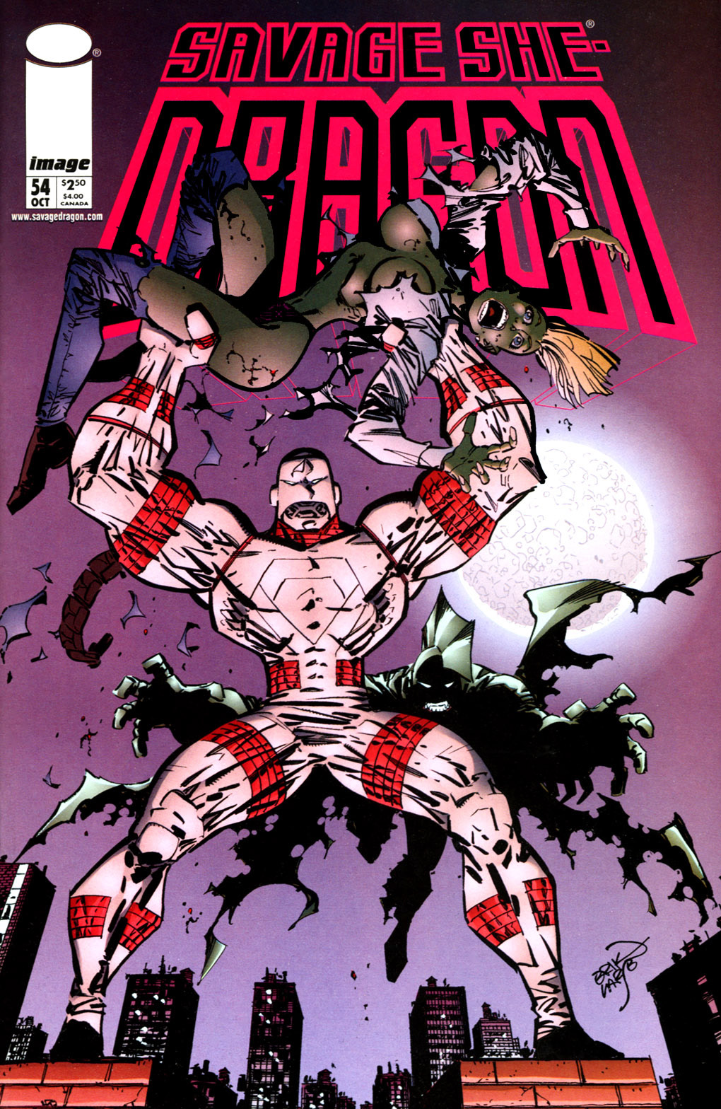 Cover Savage Dragon Vol.2 #54
