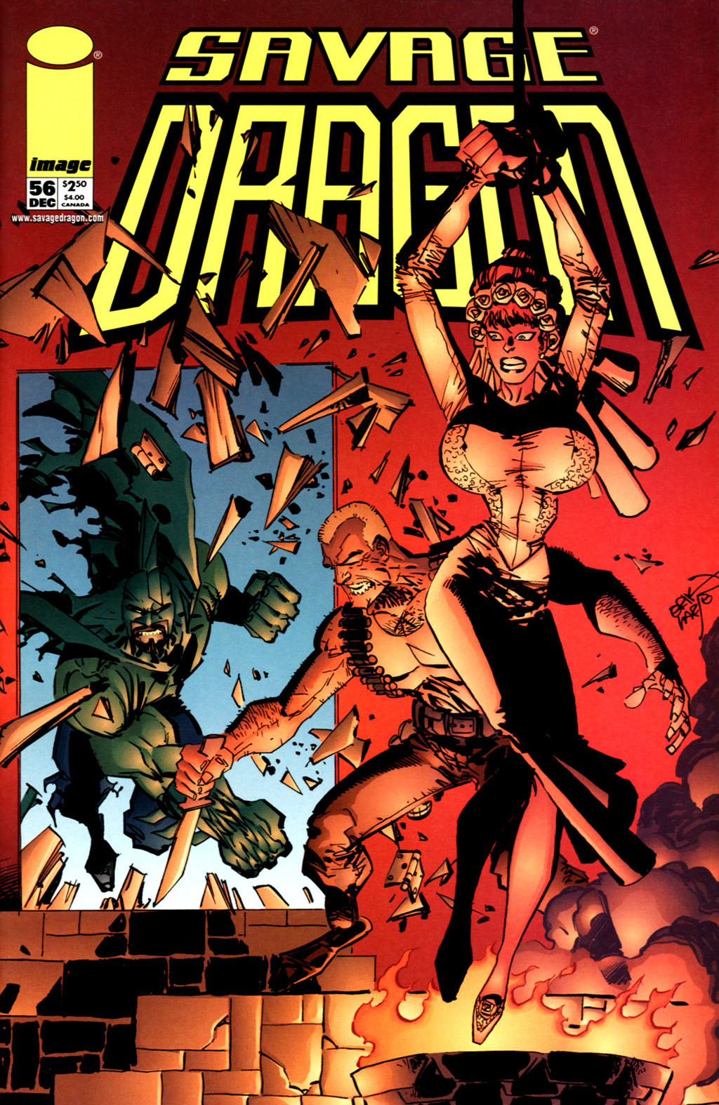 Cover Savage Dragon Vol.2 #56