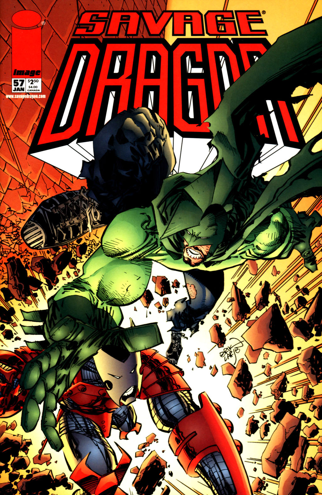 Cover Savage Dragon Vol.2 #57