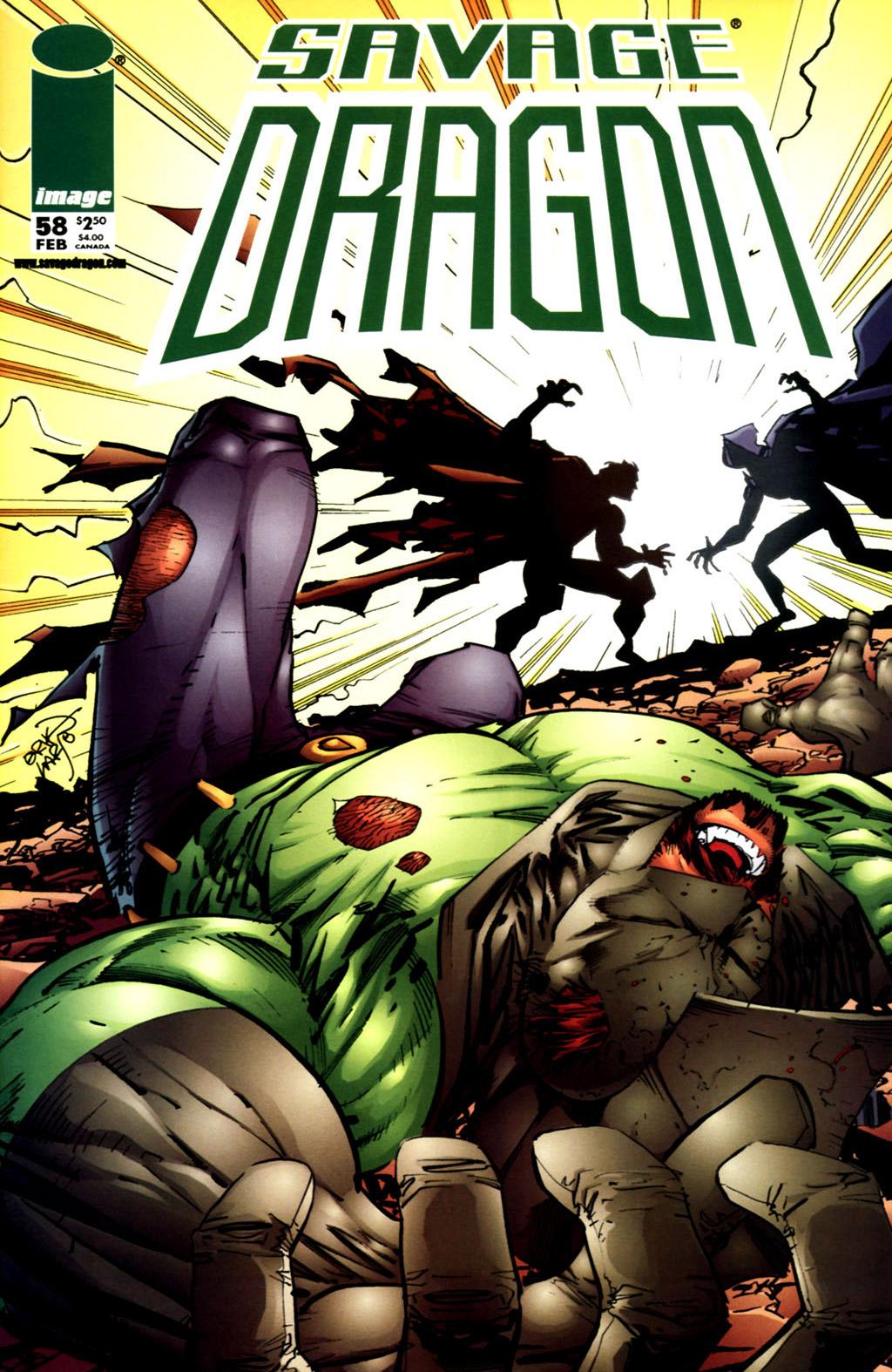 Cover Savage Dragon Vol.2 #58