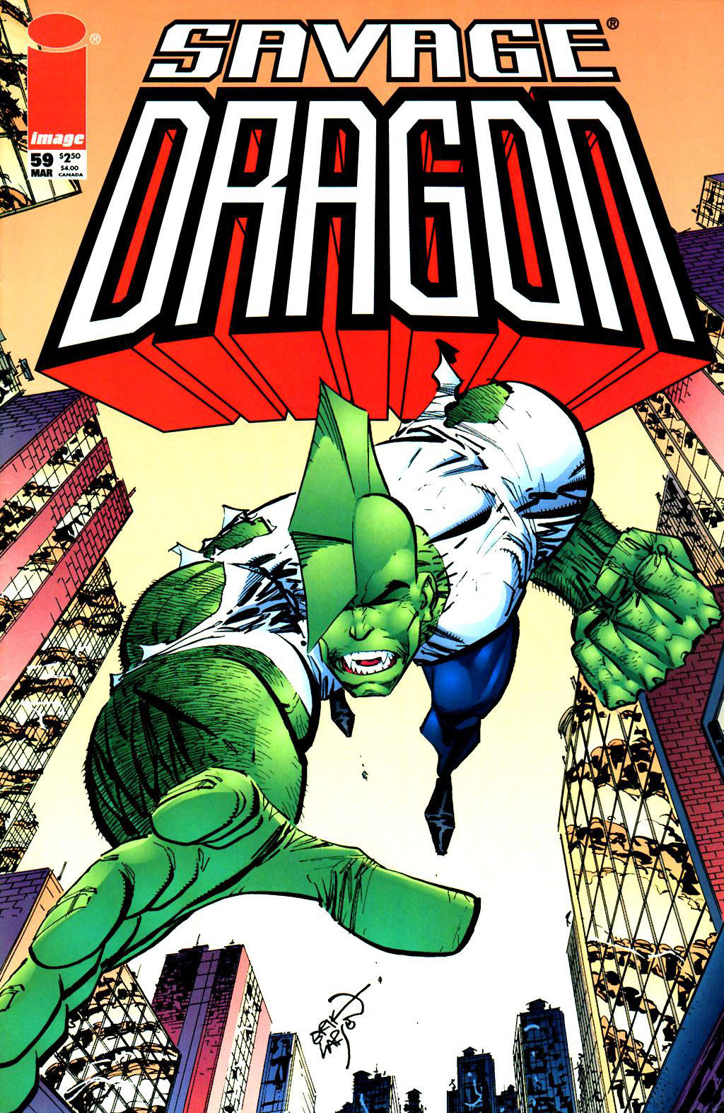 Cover Savage Dragon Vol.2 #59