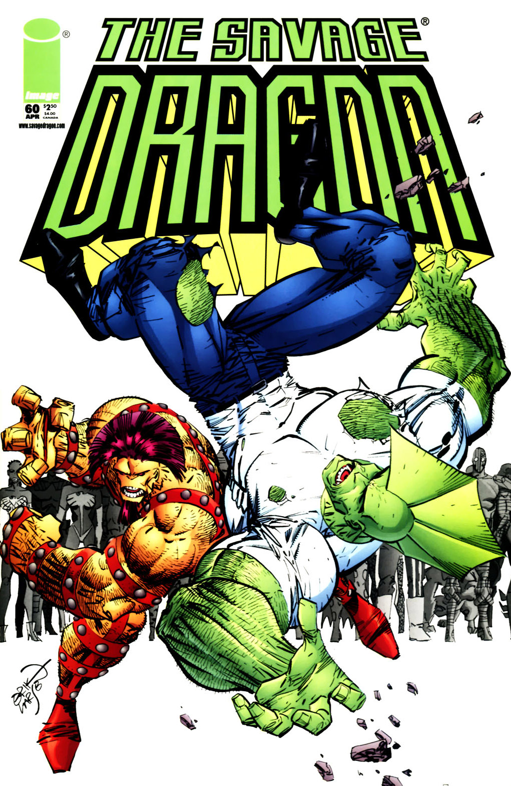 Cover Savage Dragon Vol.2 #60