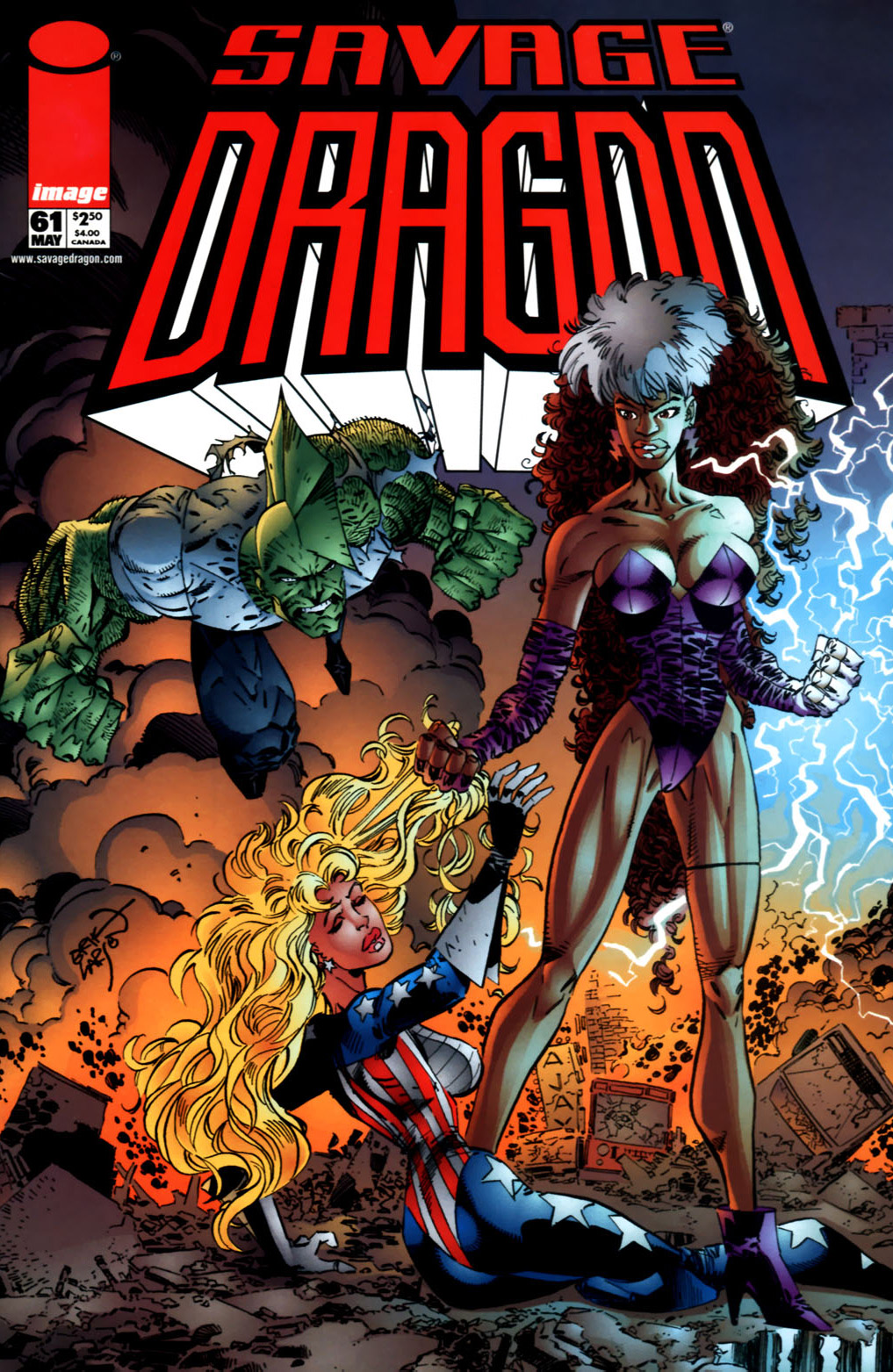 Cover Savage Dragon Vol.2 #61