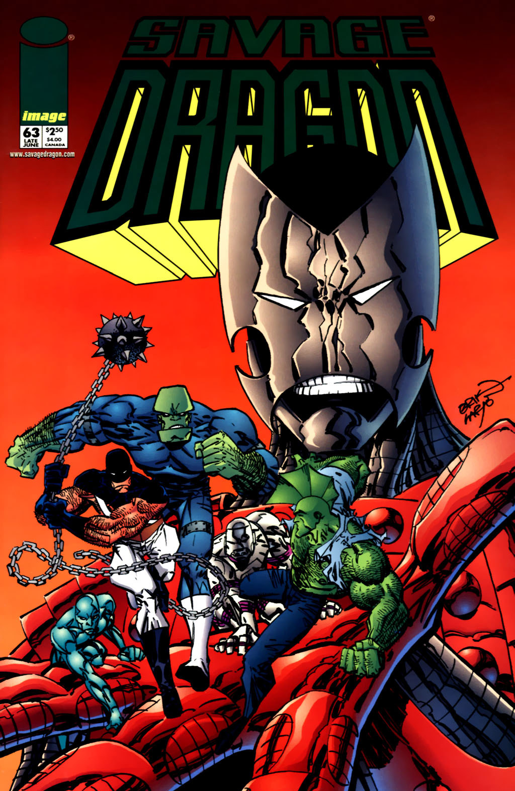 Cover Savage Dragon Vol.2 #63