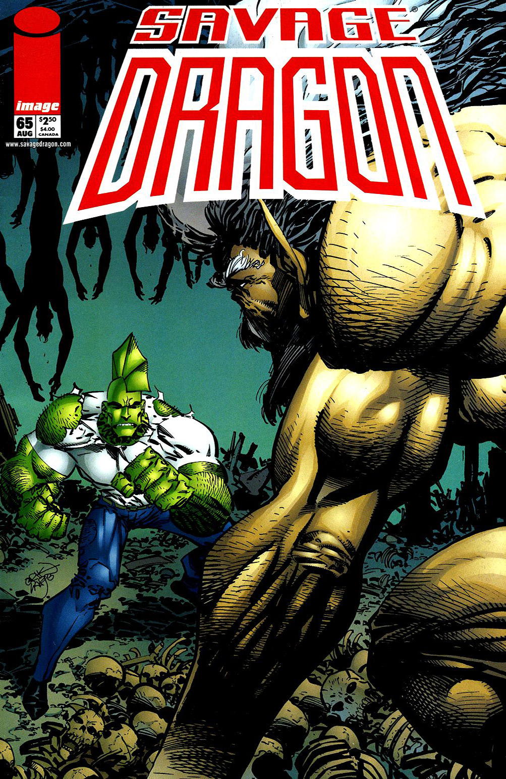 Cover Savage Dragon Vol.2 #65