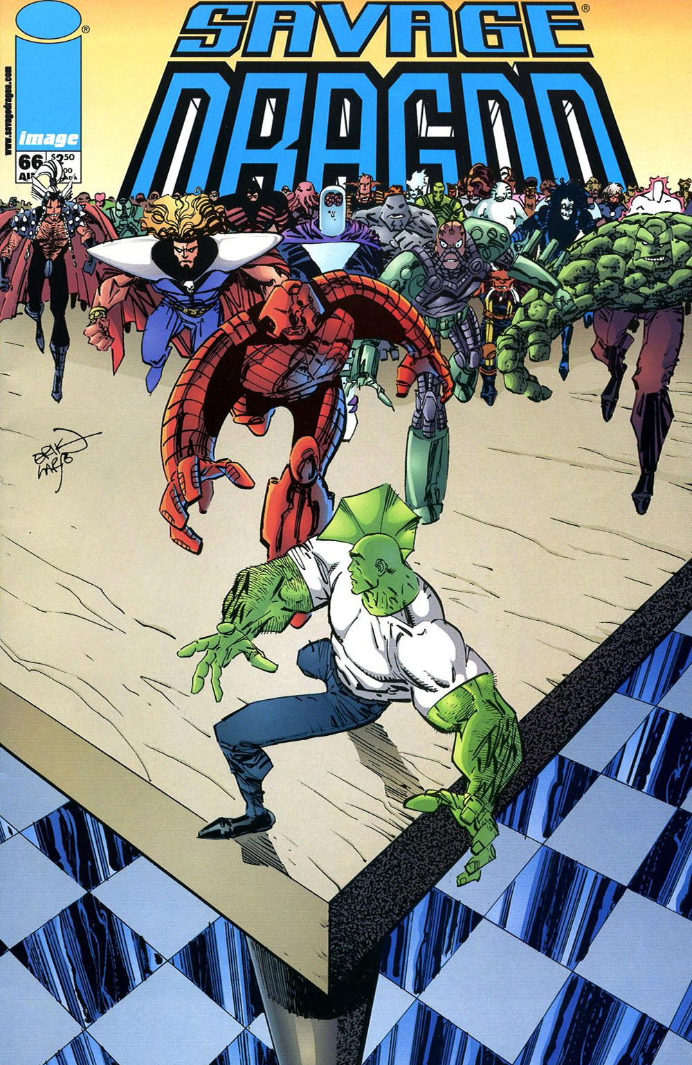 Cover Savage Dragon Vol.2 #66