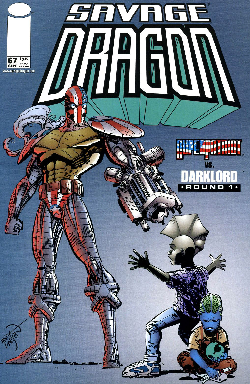 Cover Savage Dragon Vol.2 #67
