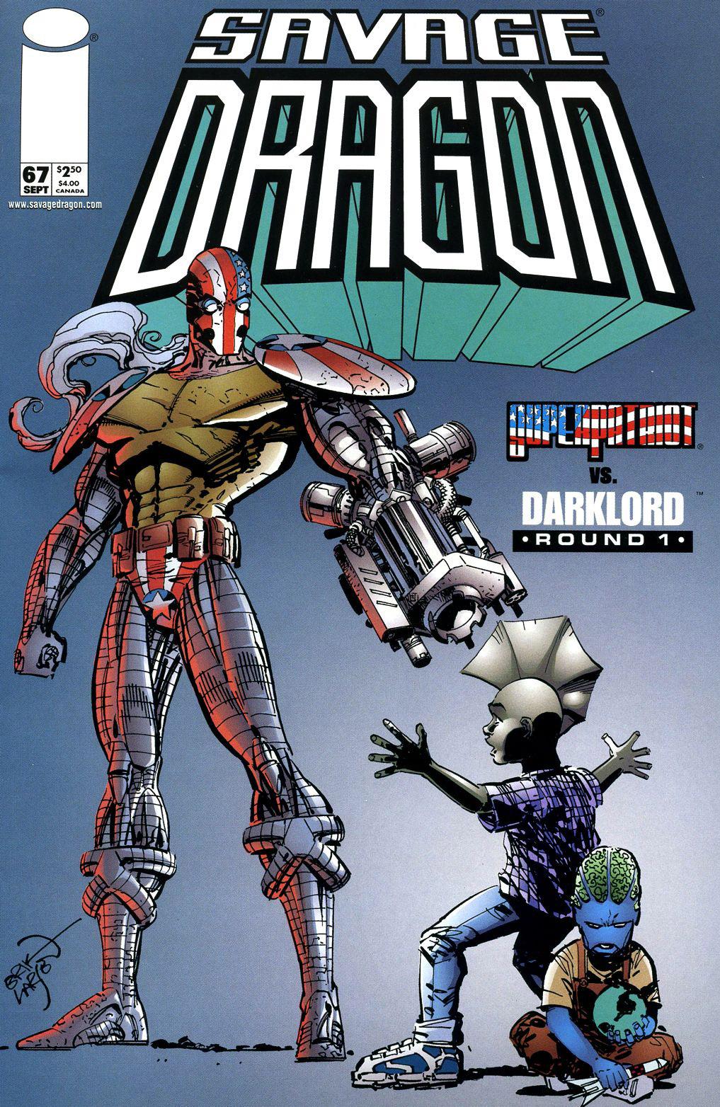 Cover Savage Dragon Vol.2 #67