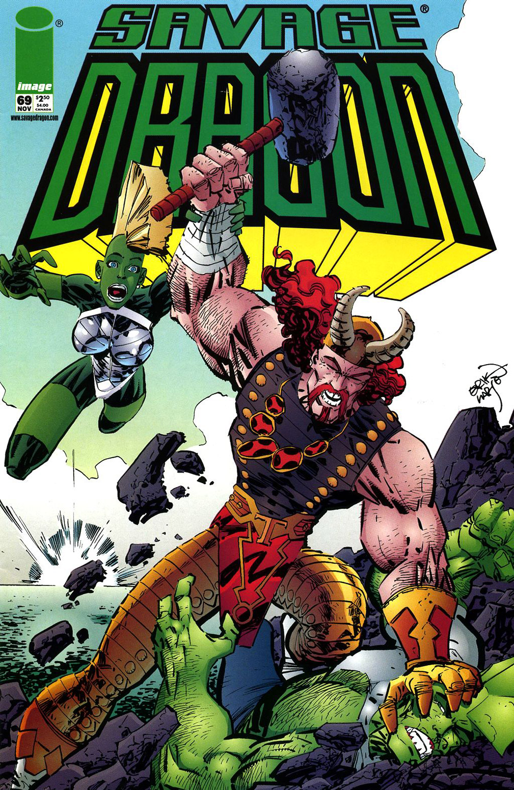 Cover Savage Dragon Vol.2 #69