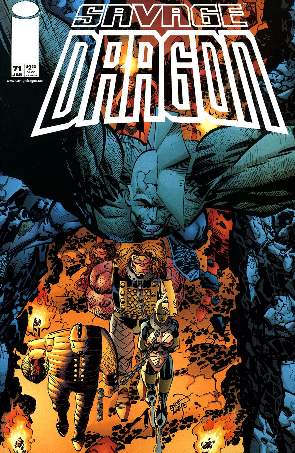Cover Savage Dragon Vol.2 #71