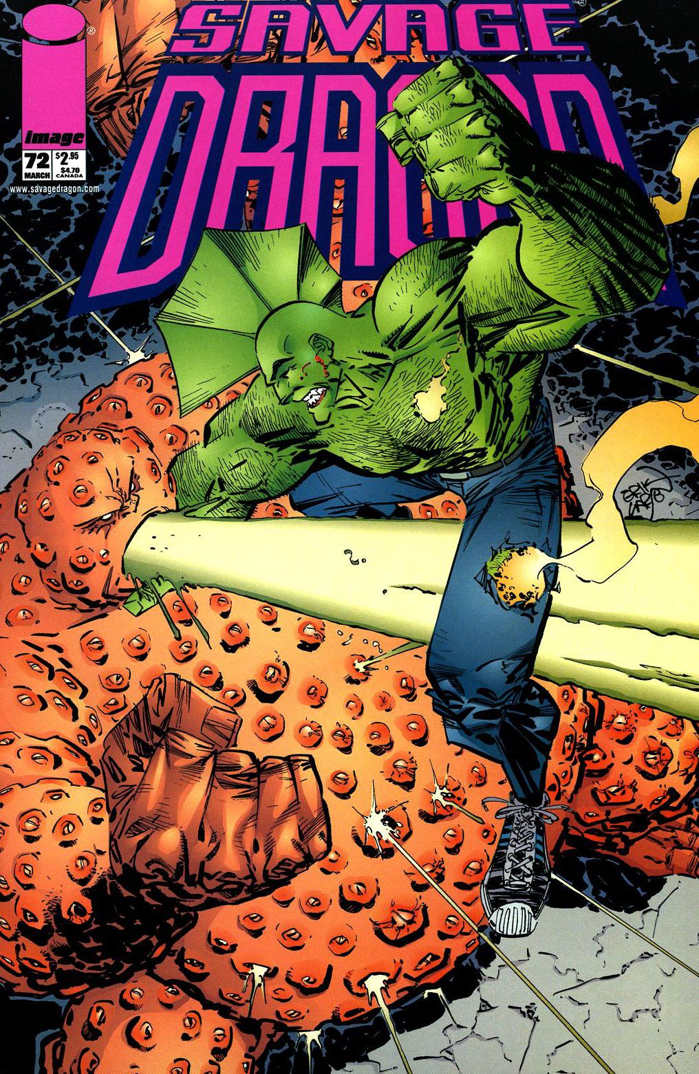 Cover Savage Dragon Vol.2 #72