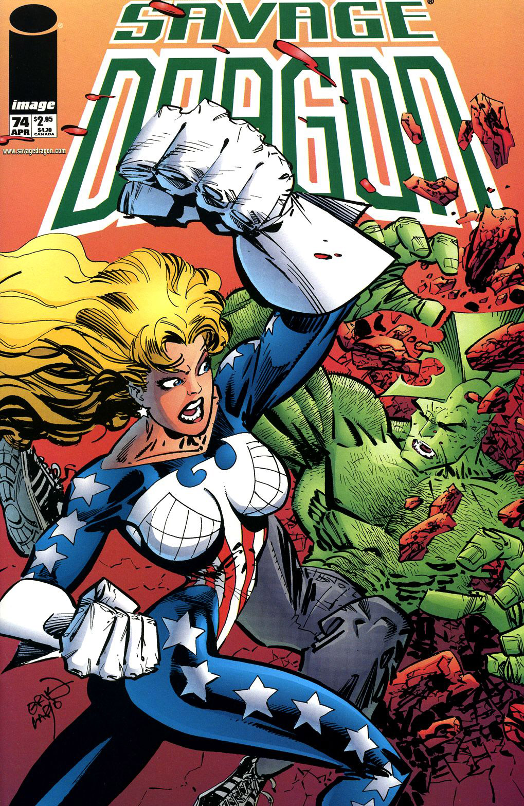 Cover Savage Dragon Vol.2 #74