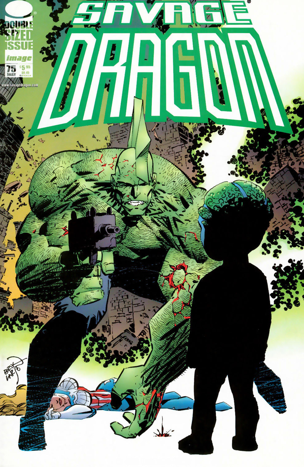 Cover Savage Dragon Vol.2 #75