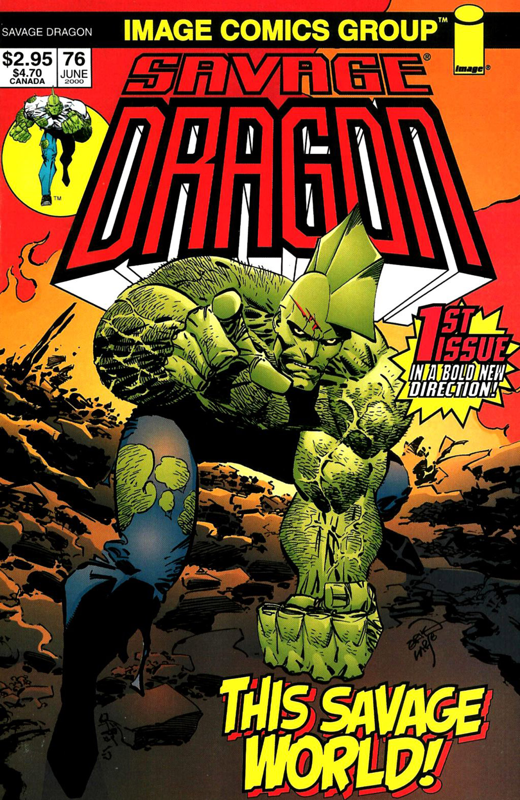 Cover Savage Dragon Vol.2 #76