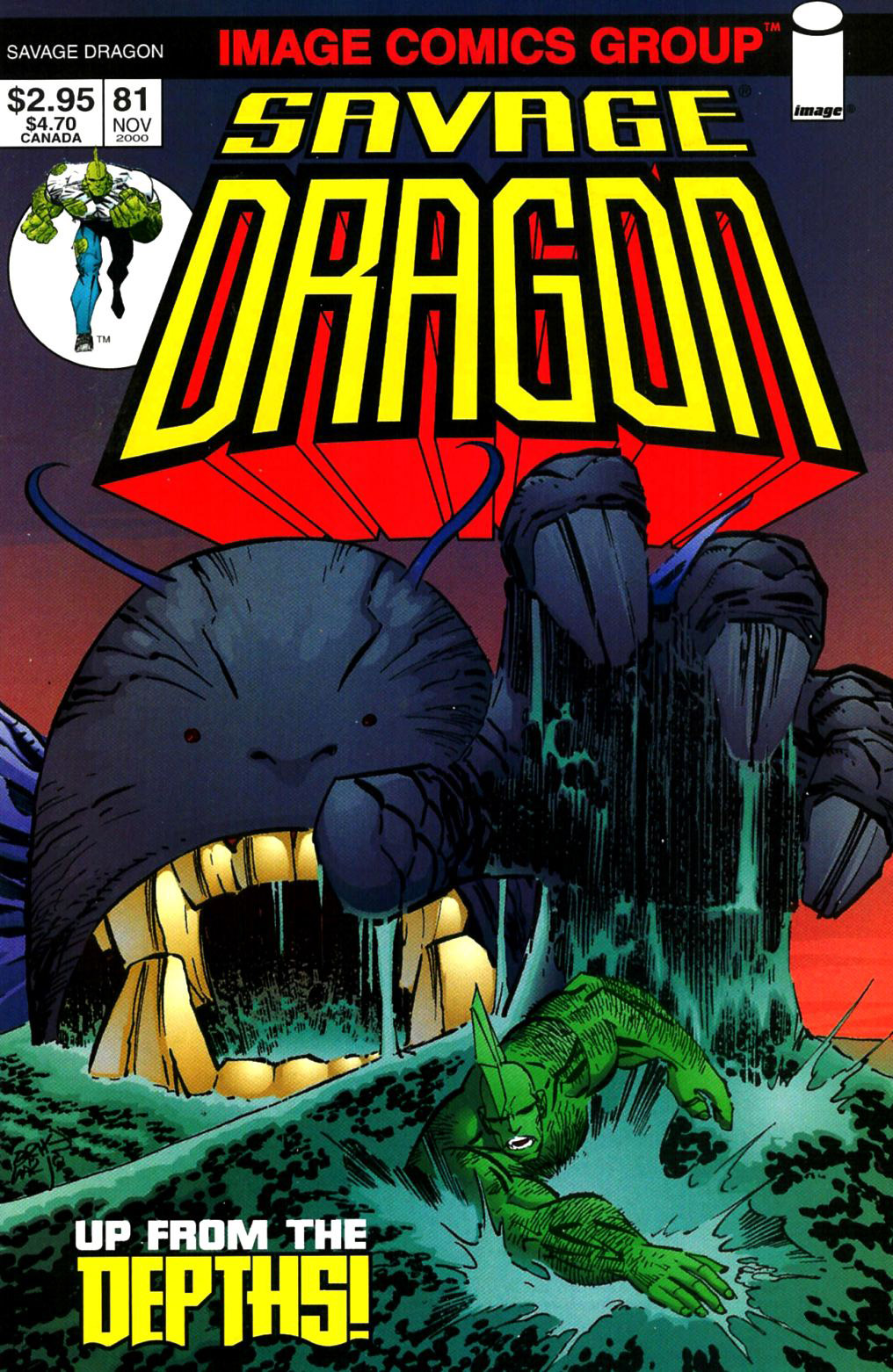 Cover Savage Dragon Vol.2 #81