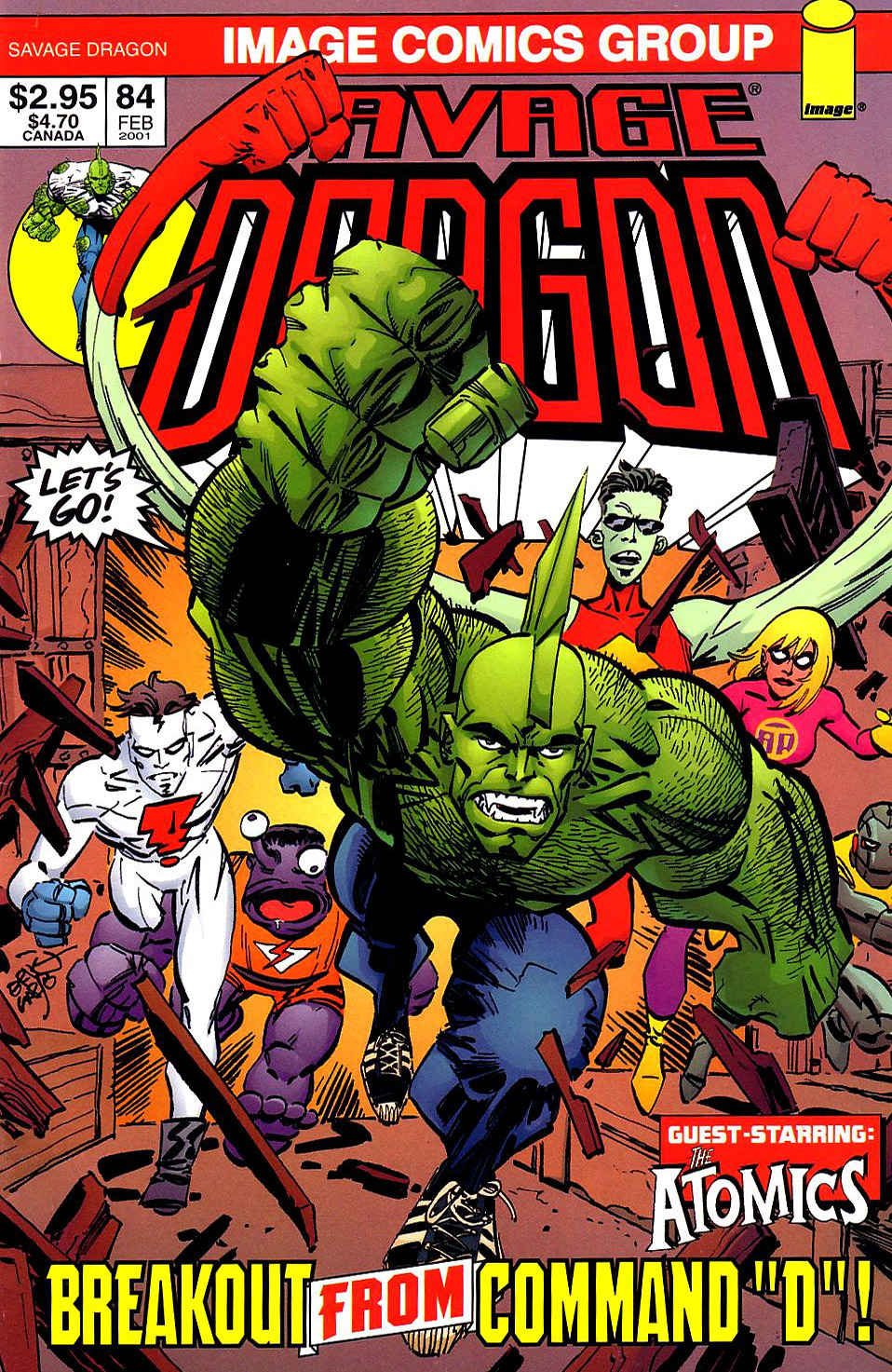 Cover Savage Dragon Vol.2 #84