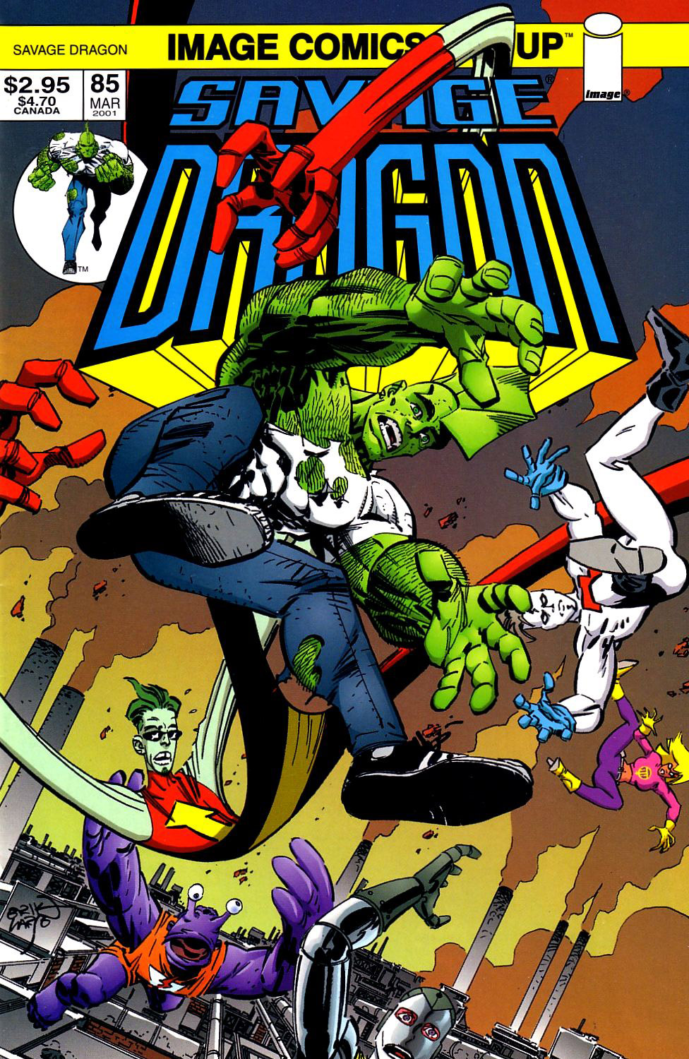 Cover Savage Dragon Vol.2 #85