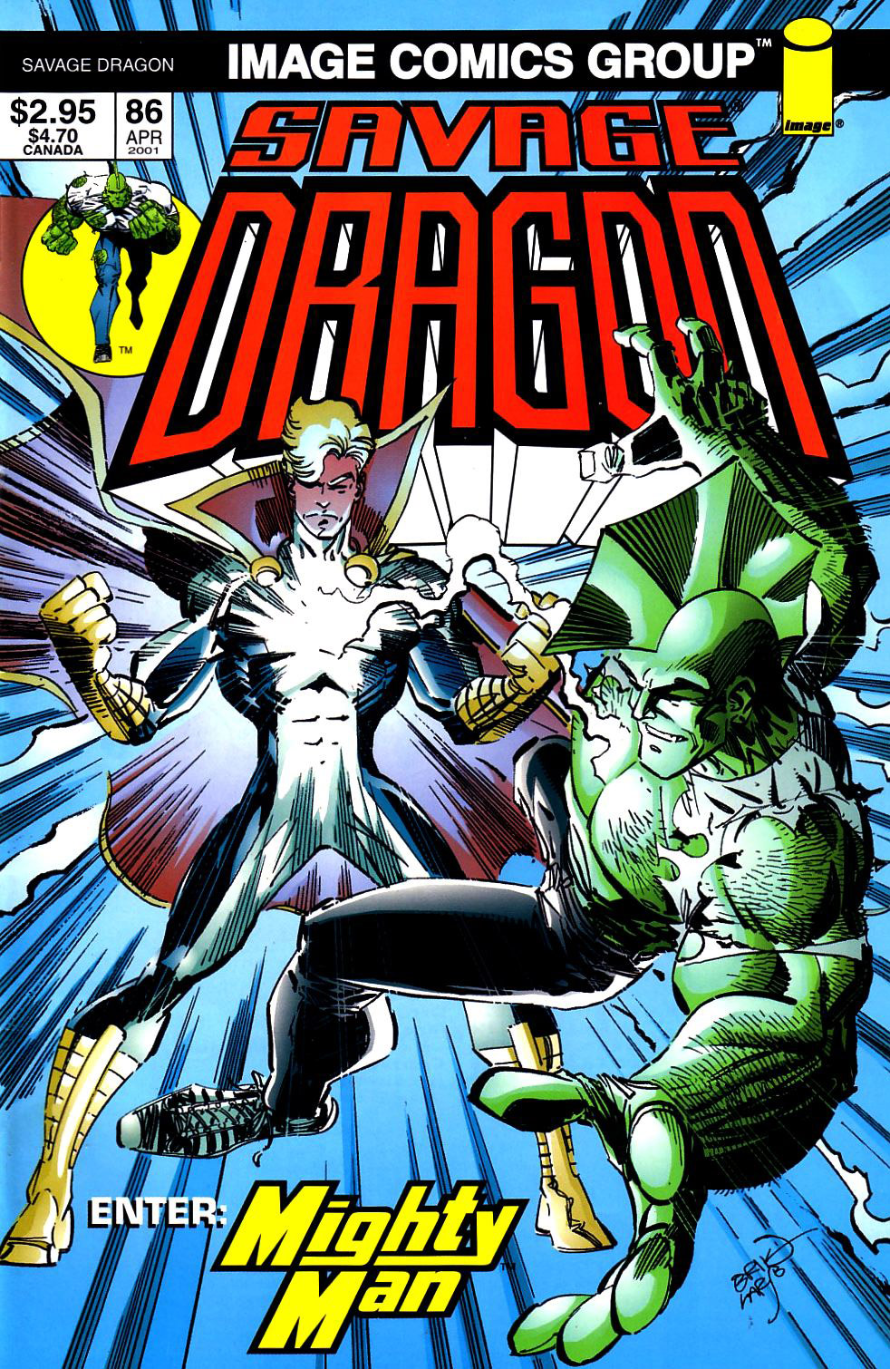 Cover Savage Dragon Vol.2 #86