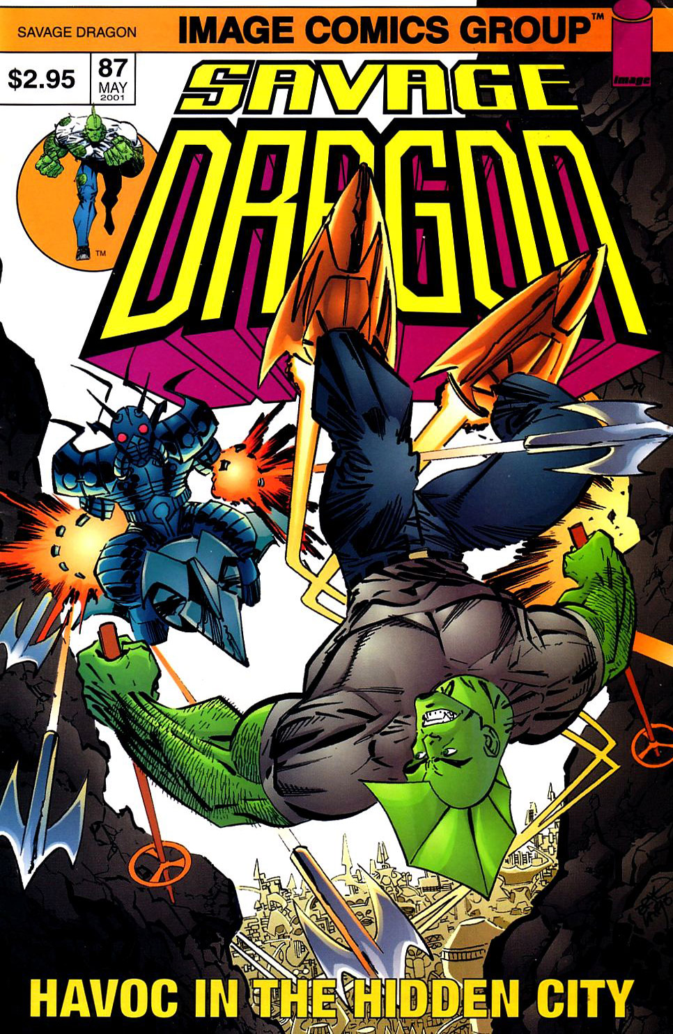 Cover Savage Dragon Vol.2 #87