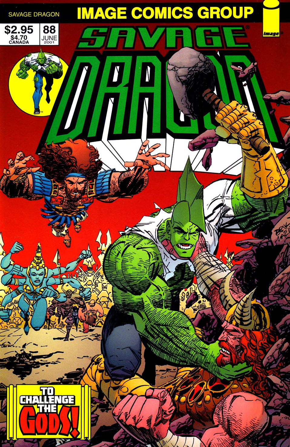 Cover Savage Dragon Vol.2 #88
