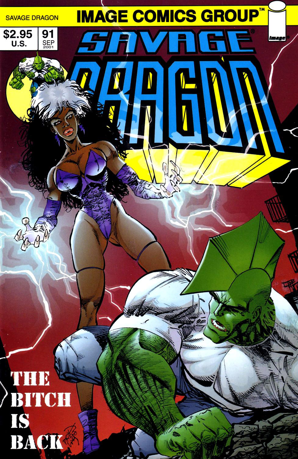Cover Savage Dragon Vol.2 #91