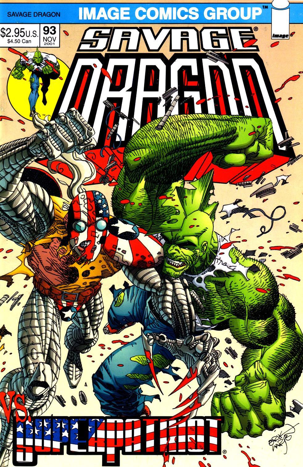 Cover Savage Dragon Vol.2 #93