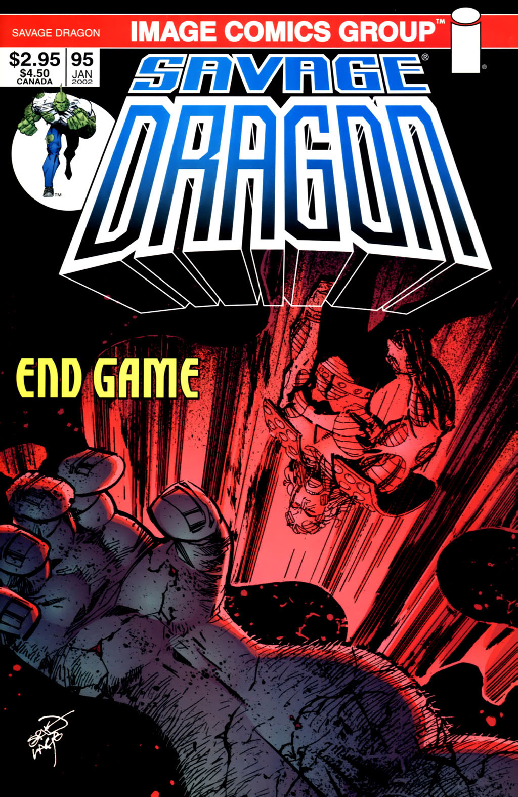 Cover Savage Dragon Vol.2 #95