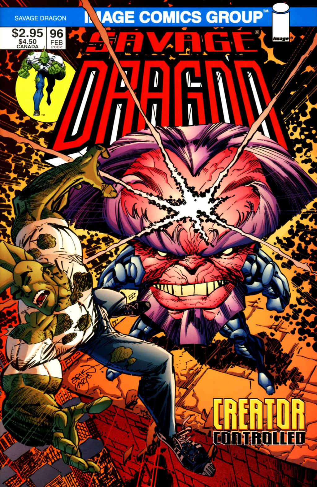 Cover Savage Dragon Vol.2 #96