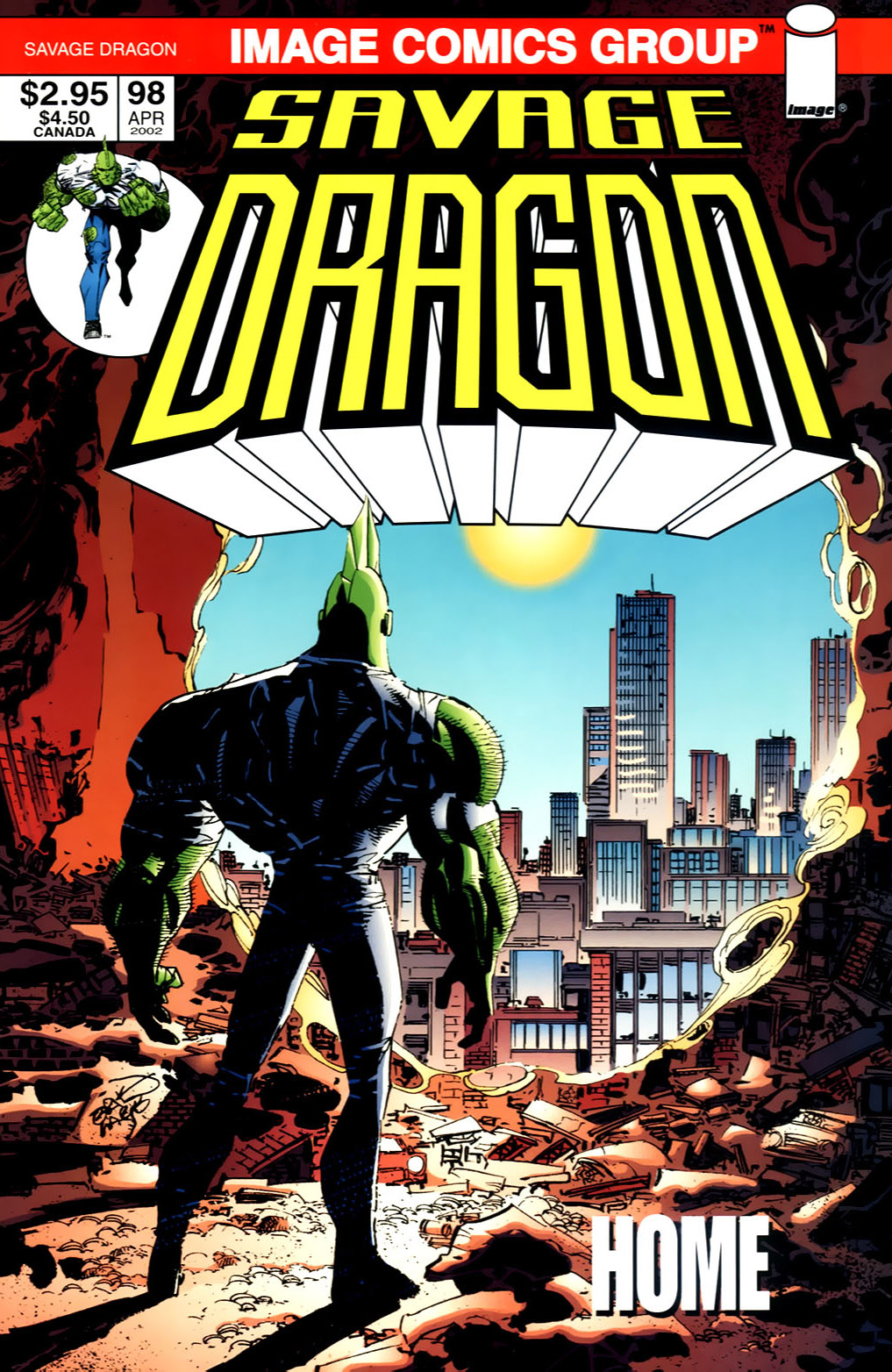 Cover Savage Dragon Vol.2 #98