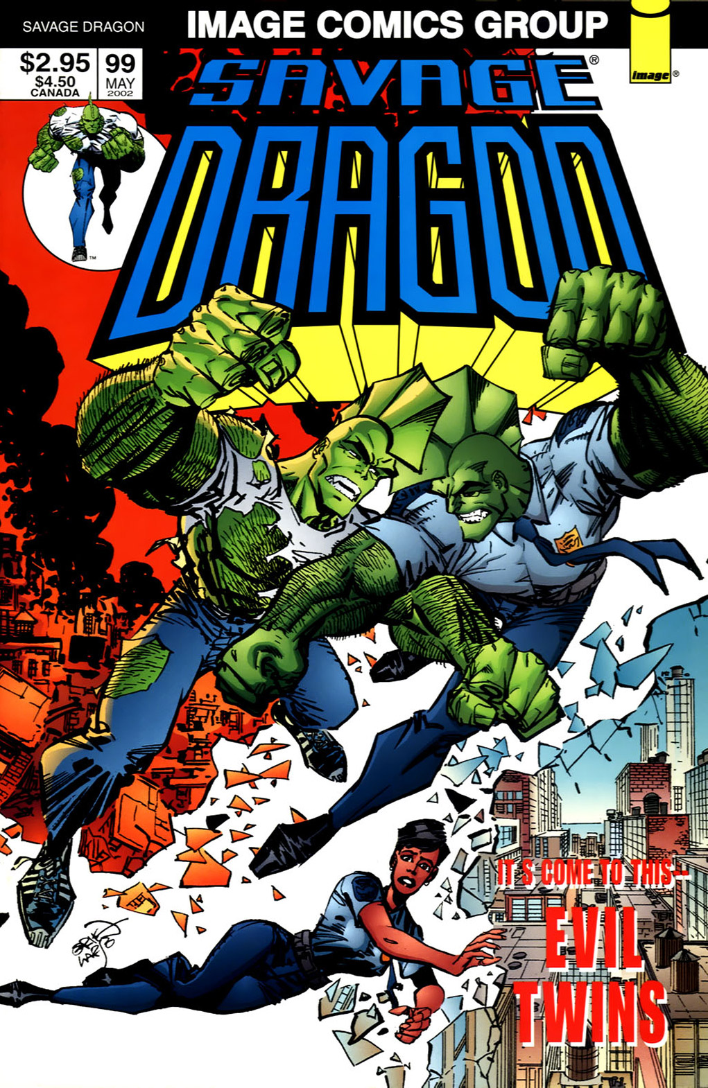 Cover Savage Dragon Vol.2 #99