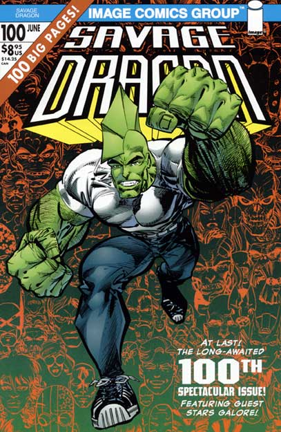 Cover Savage Dragon Vol.2 #100