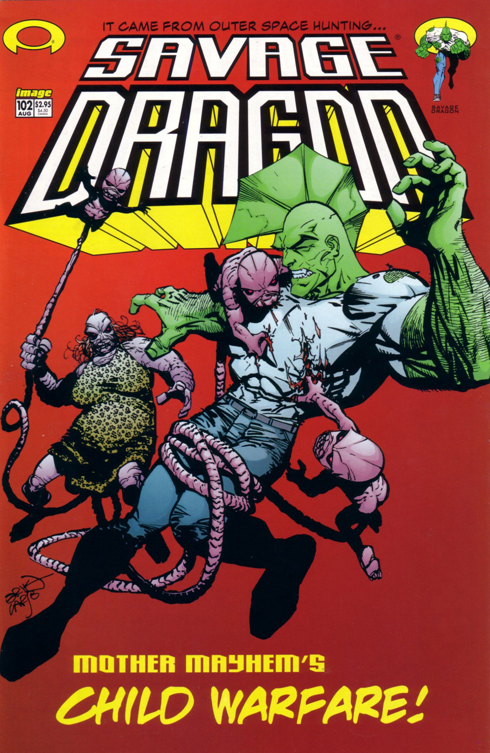 Cover Savage Dragon Vol.2 #102