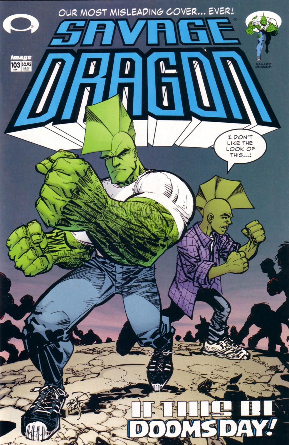 Cover Savage Dragon Vol.2 #103