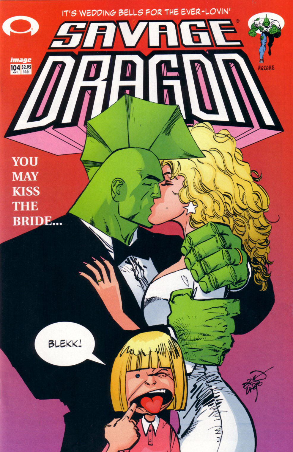 Cover Savage Dragon Vol.2 #104