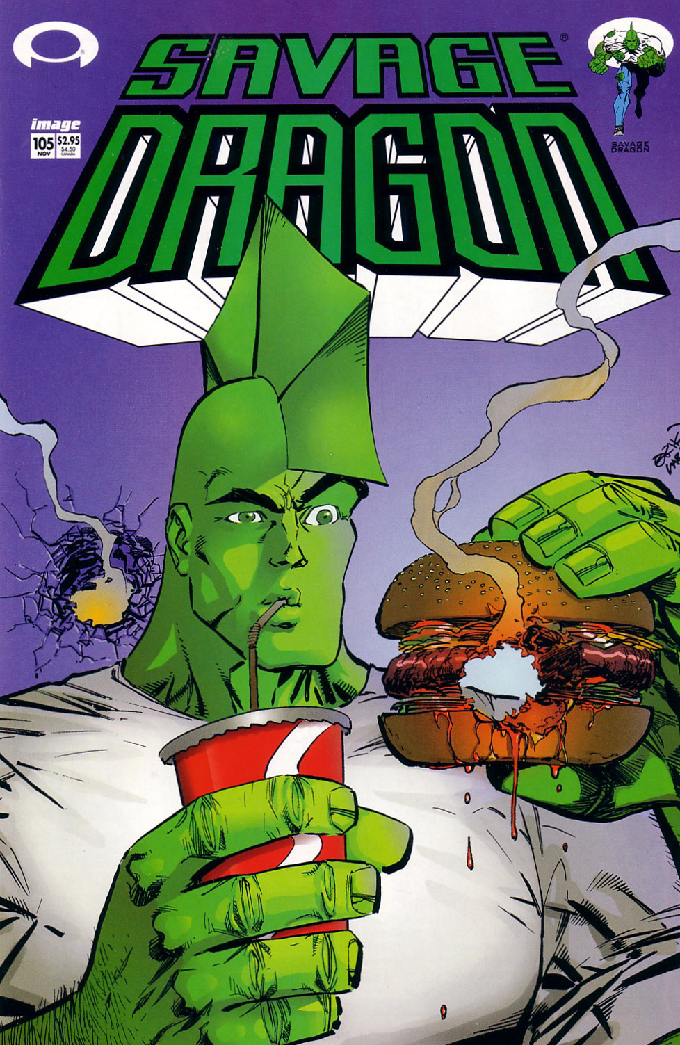 Cover Savage Dragon Vol.2 #105