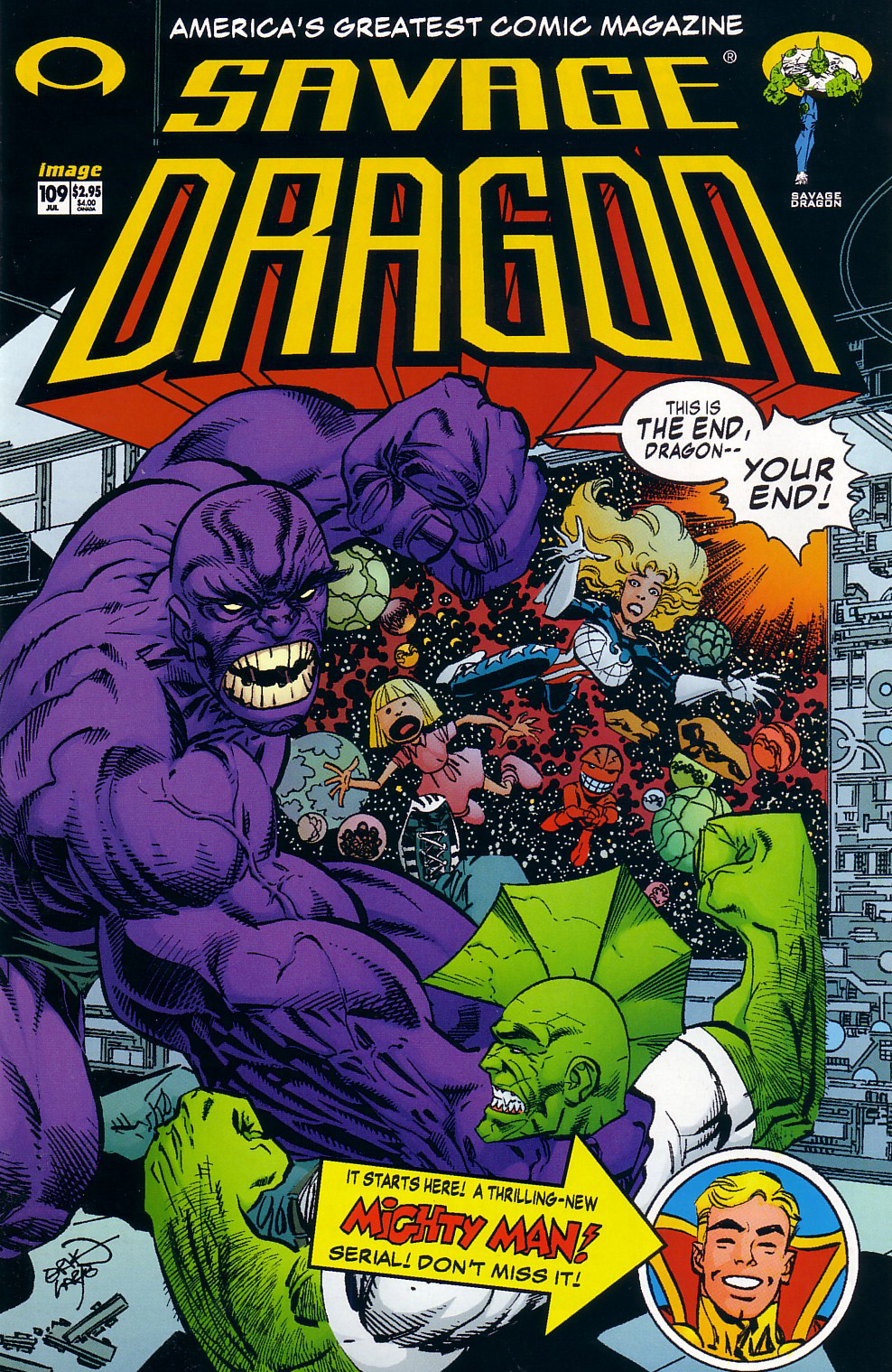 Cover Savage Dragon Vol.2 #109