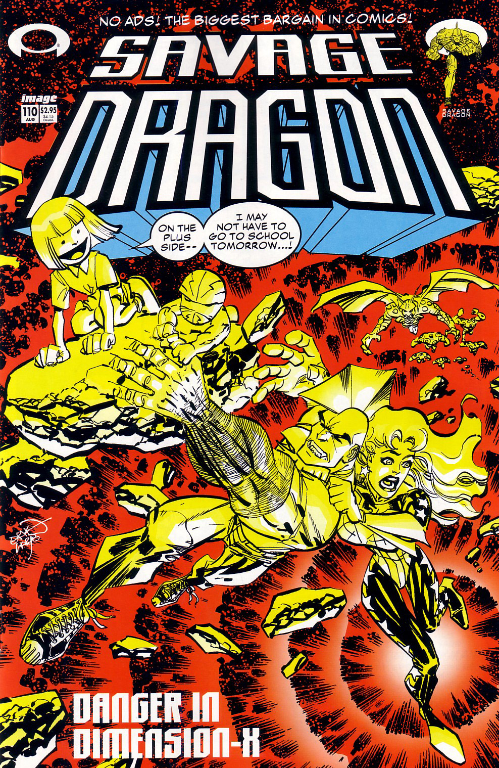 Cover Savage Dragon Vol.2 #110