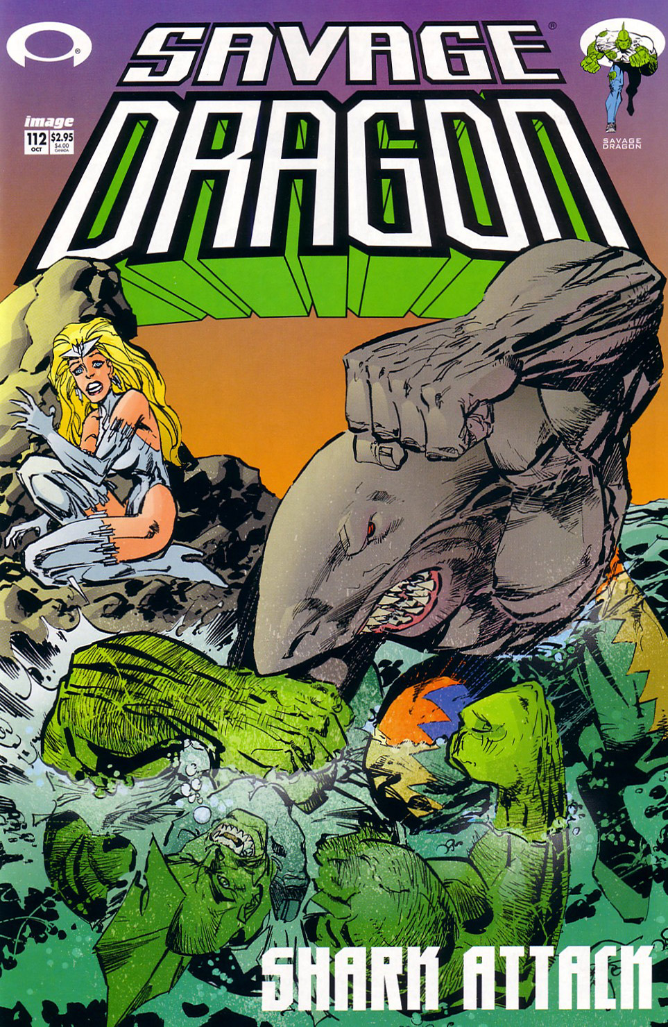 Cover Savage Dragon Vol.2 #112